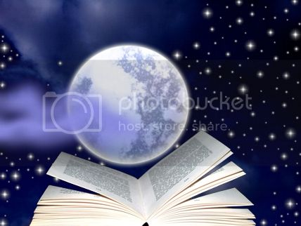 Books can hold the moon